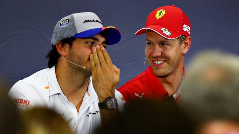 Sainz Vettel