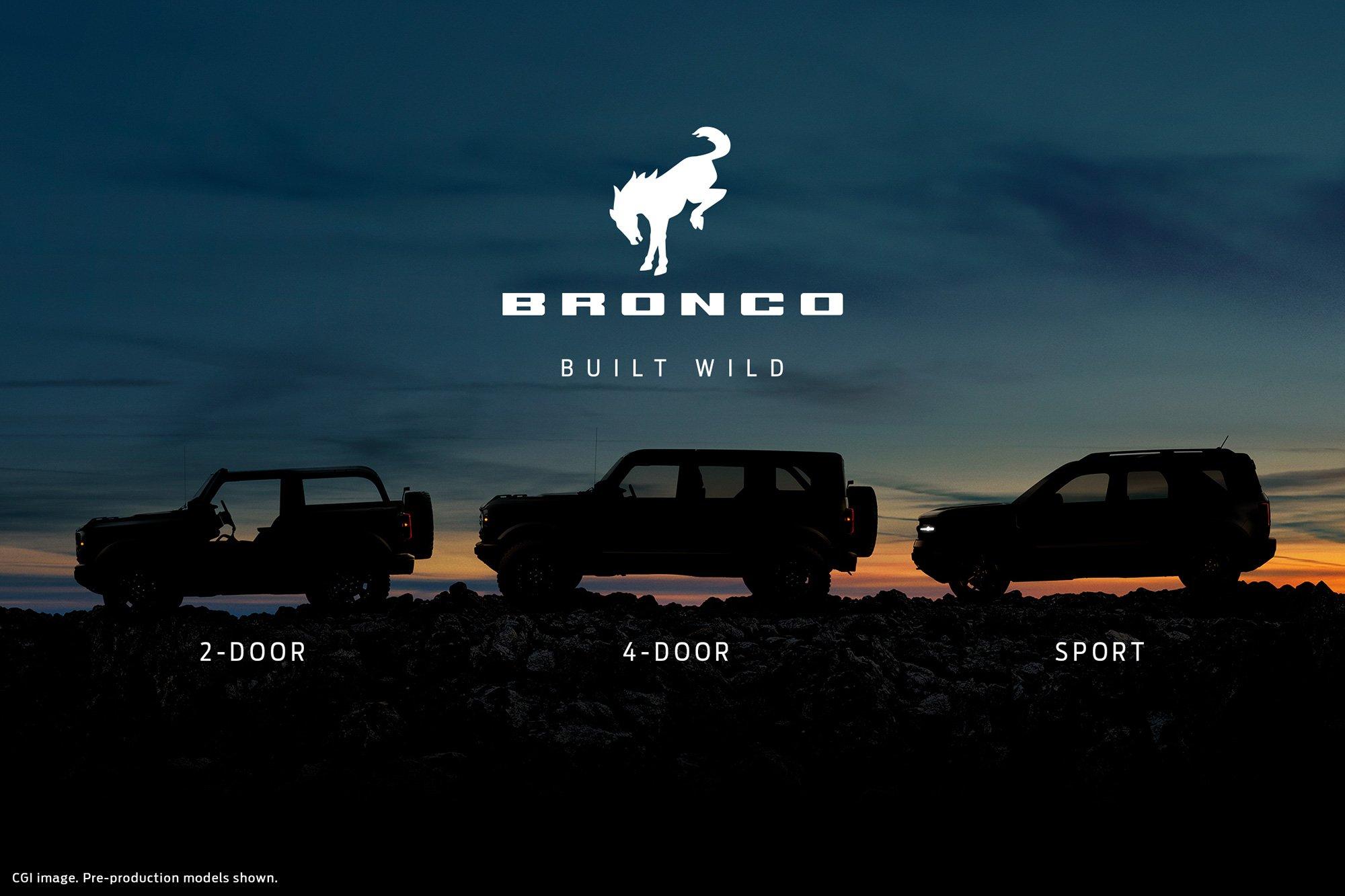 Bronco-versiones