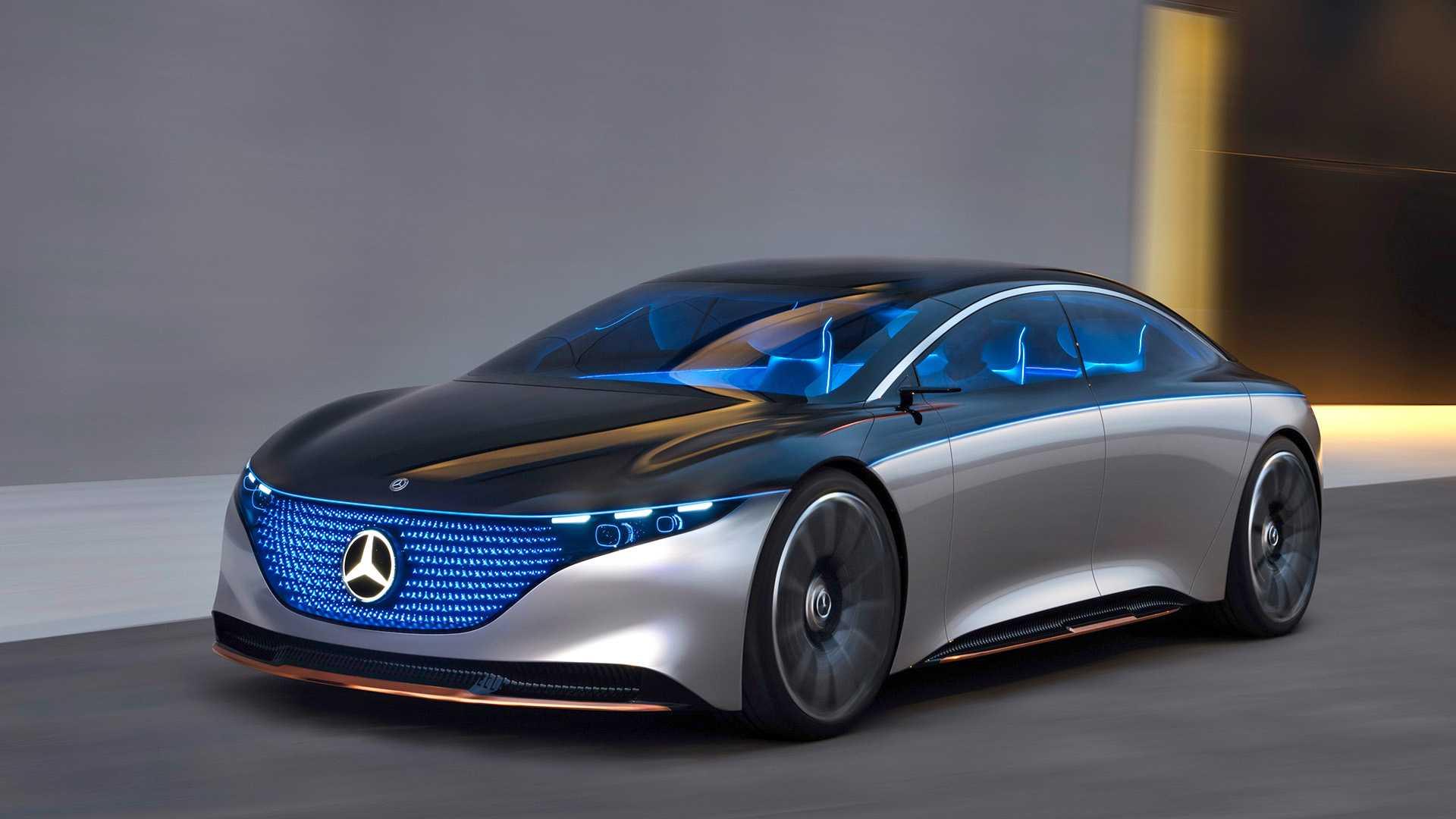Mercedes-Benz EQS frente