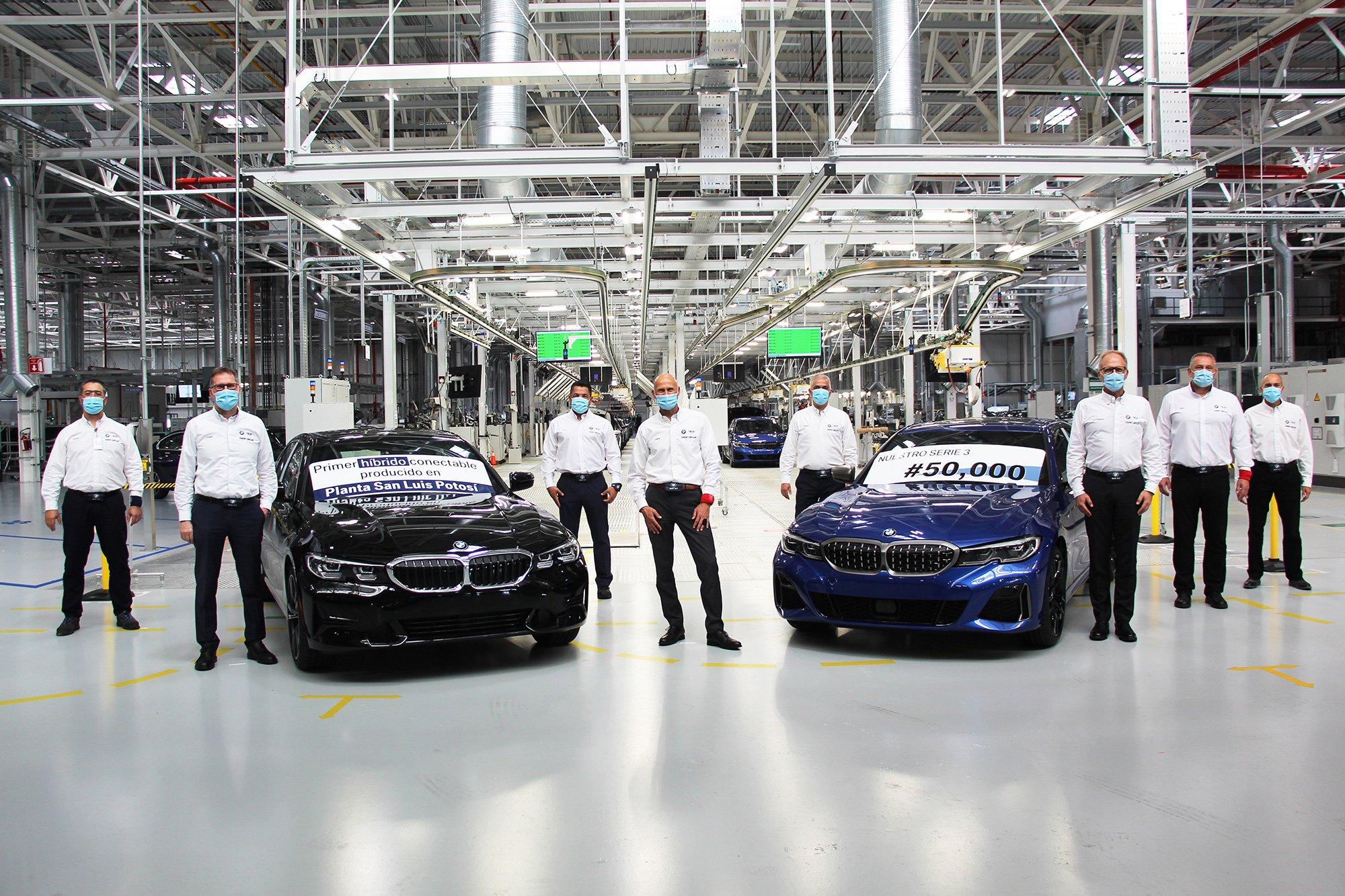 BMW Serie 3 Planta San Luis Potosi 50 mil