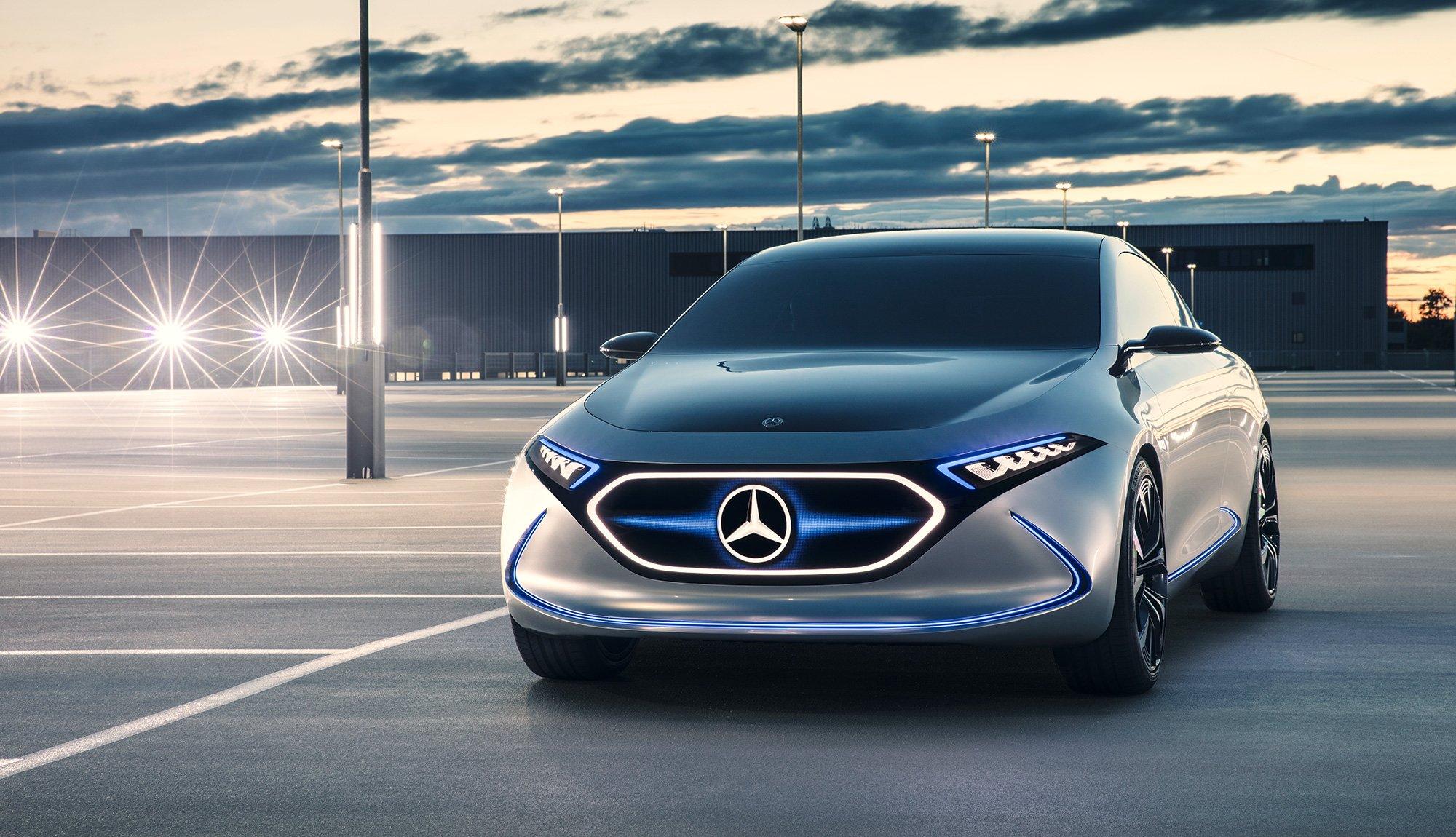 Mercedes EQA prototipo