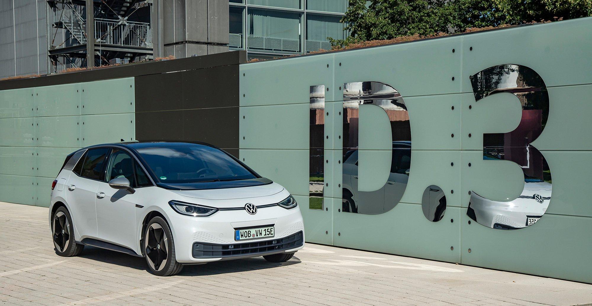 Volkswagen ID 3 logo