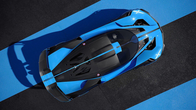 Bugatti Bolide arriba