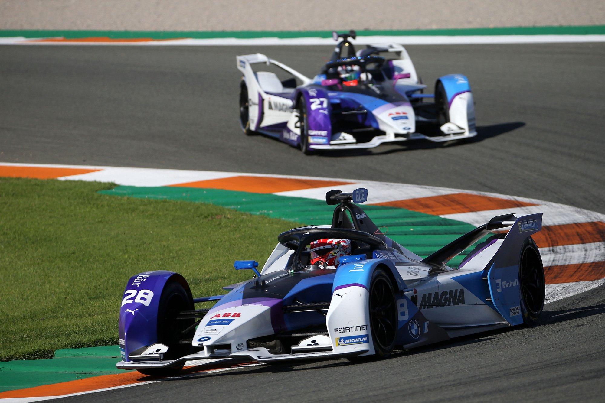 BMW Formula E retira