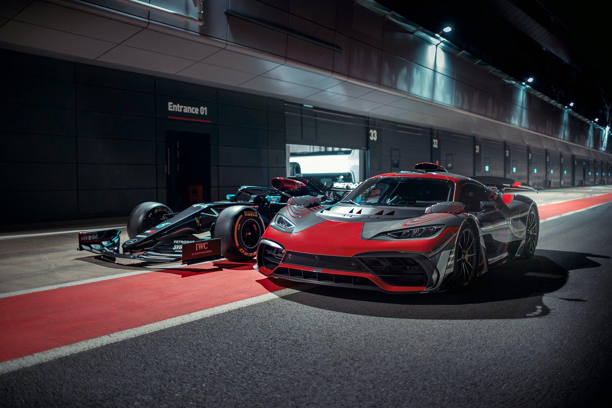 Campana Mercedes-AMG Project One Hamilton