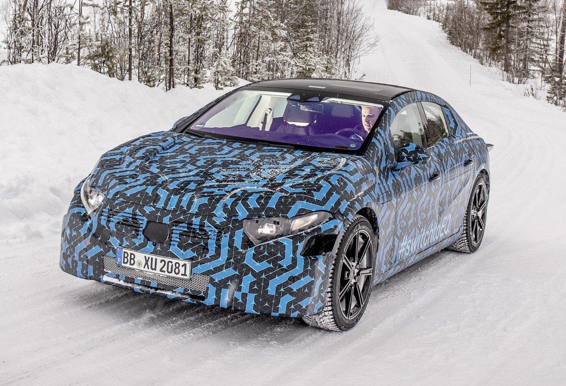 Mercedes-Benz EQS 2022 frio pruebas
