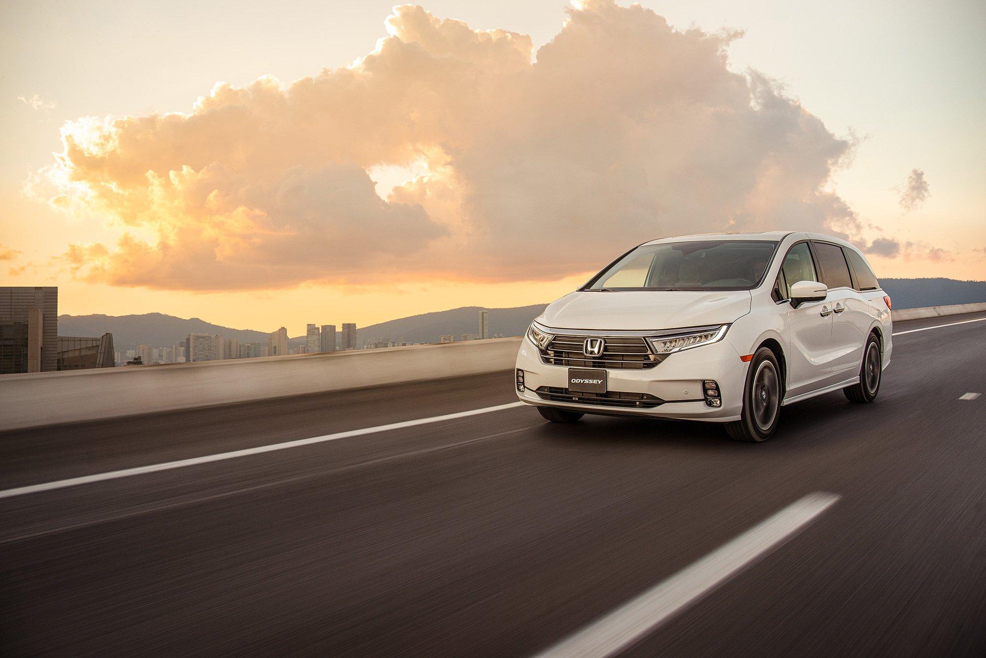 Honda-Odyssey-2021 carreta