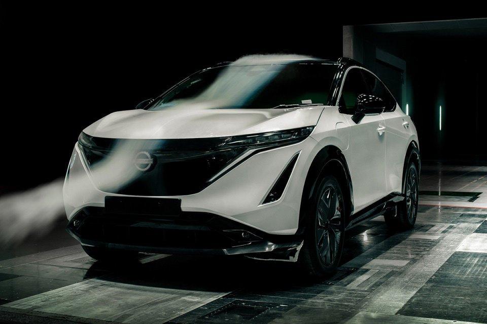 Nissan Ariya aerodinamica