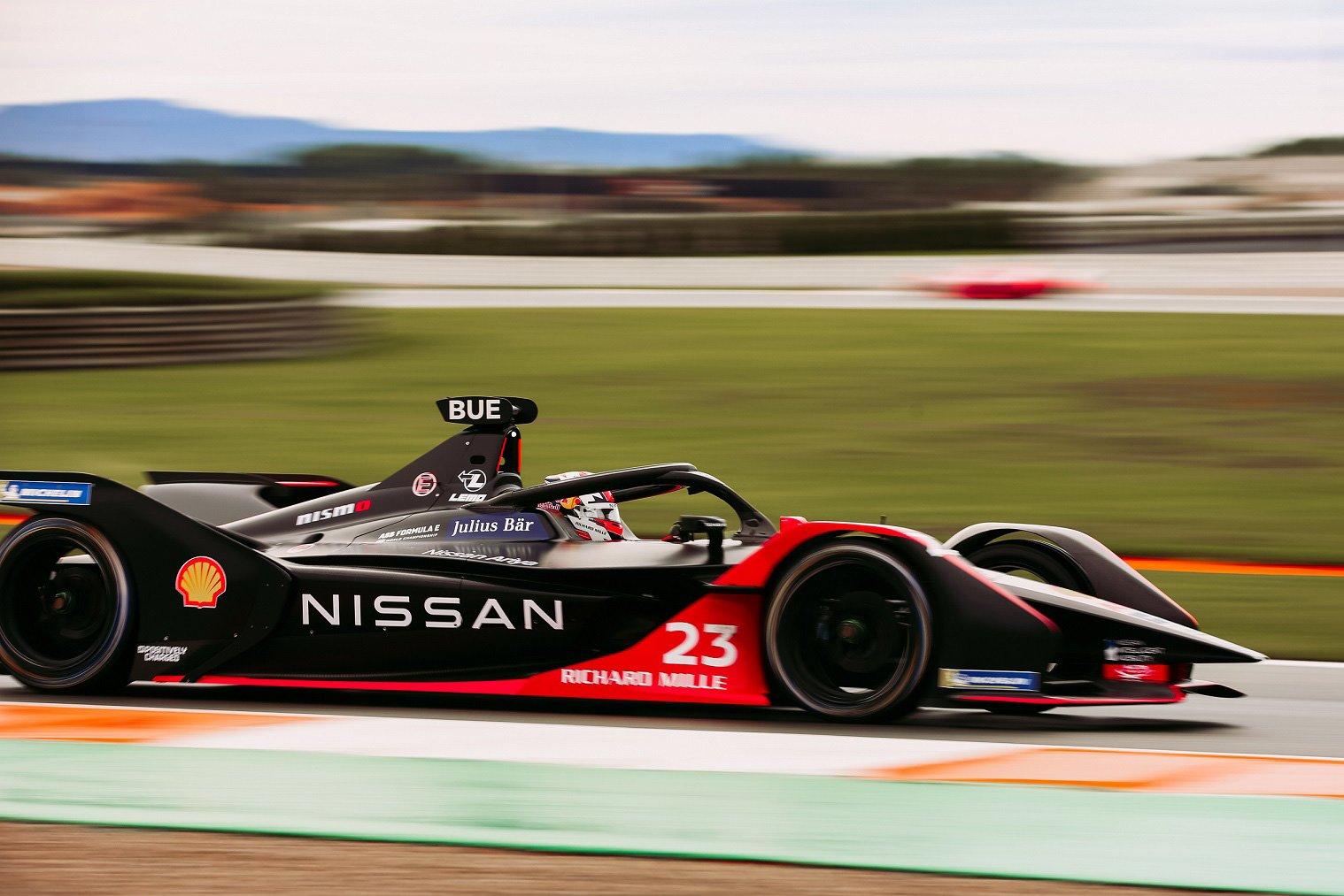 Nissan edams Formula E 2021