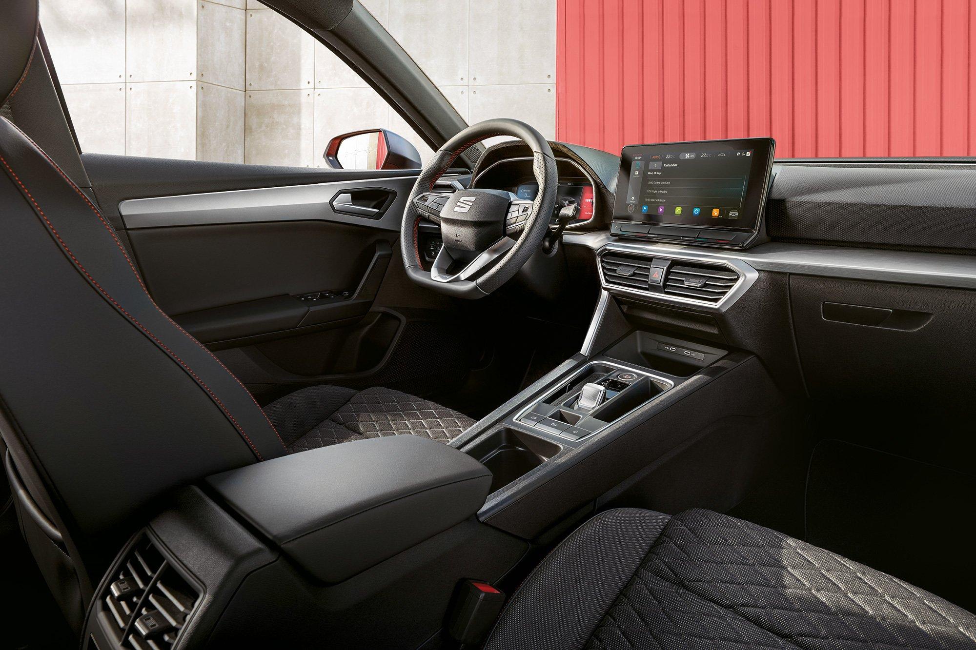 Nuevo SEAT Leon 2021 interior