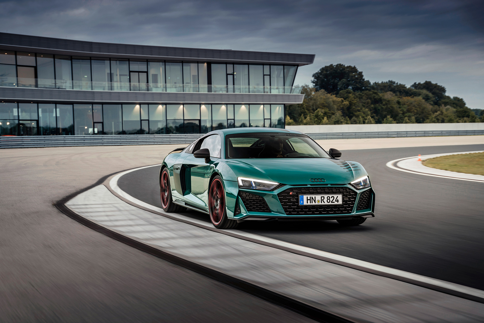 Audi R8 Green Hell frente