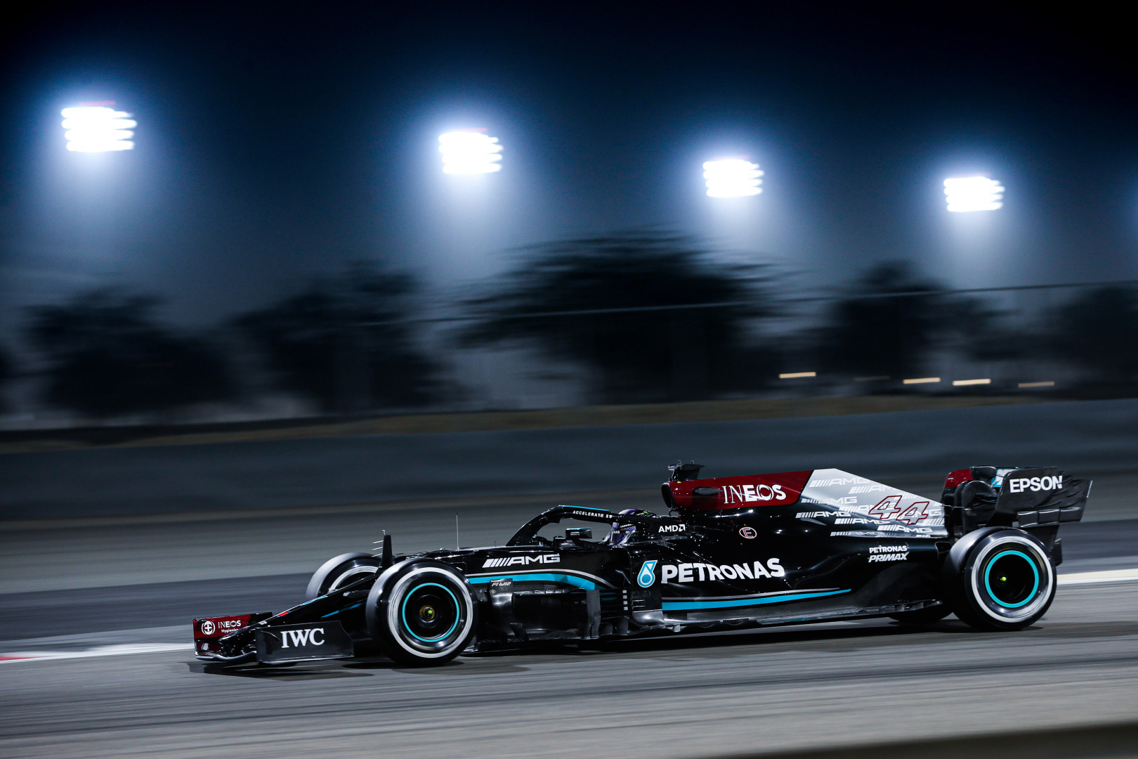 Midnight Black Mercedes-AMG F1 W12 E Performance
