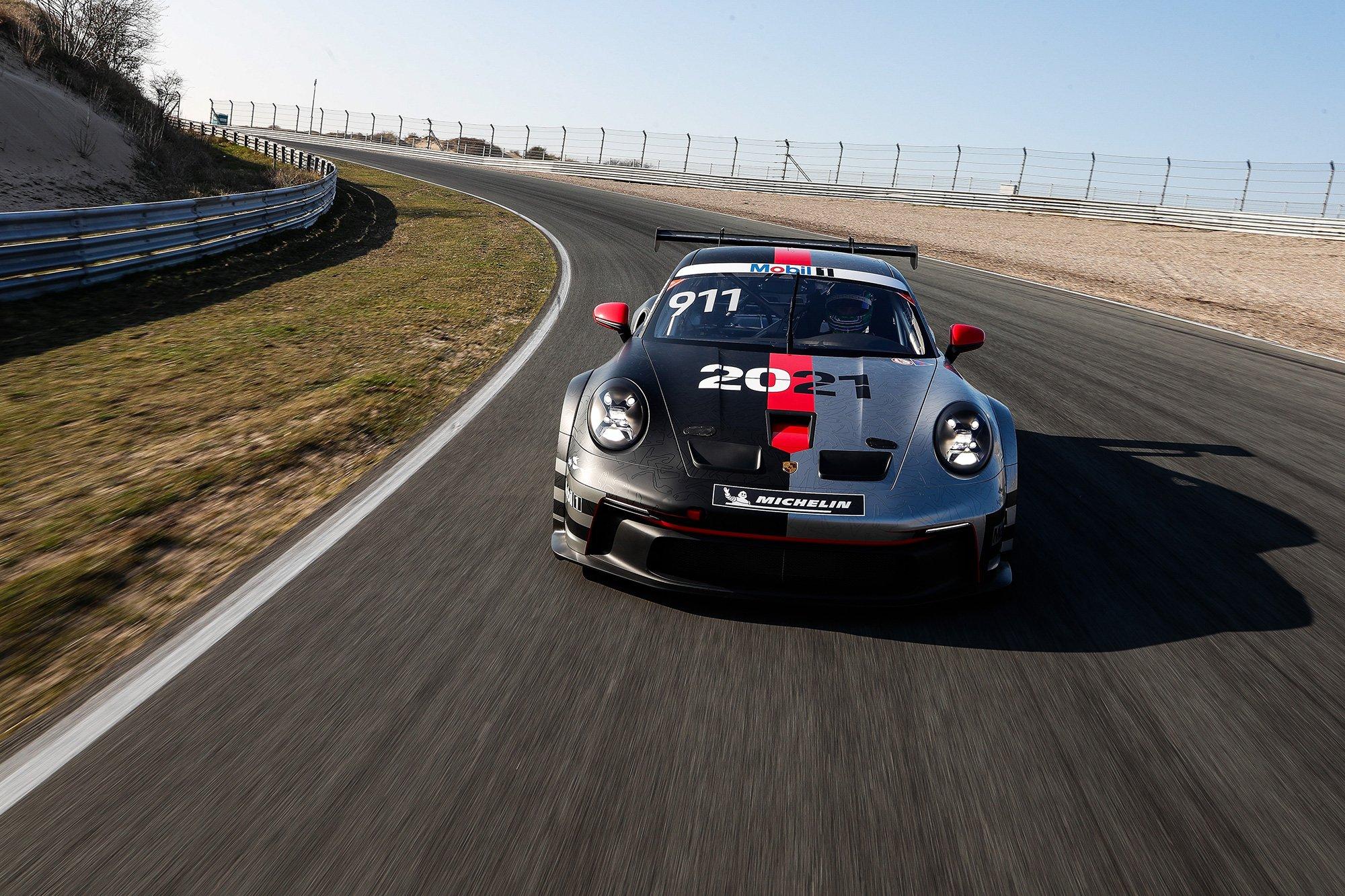 Porsche 911 GT3 Cup eFuels