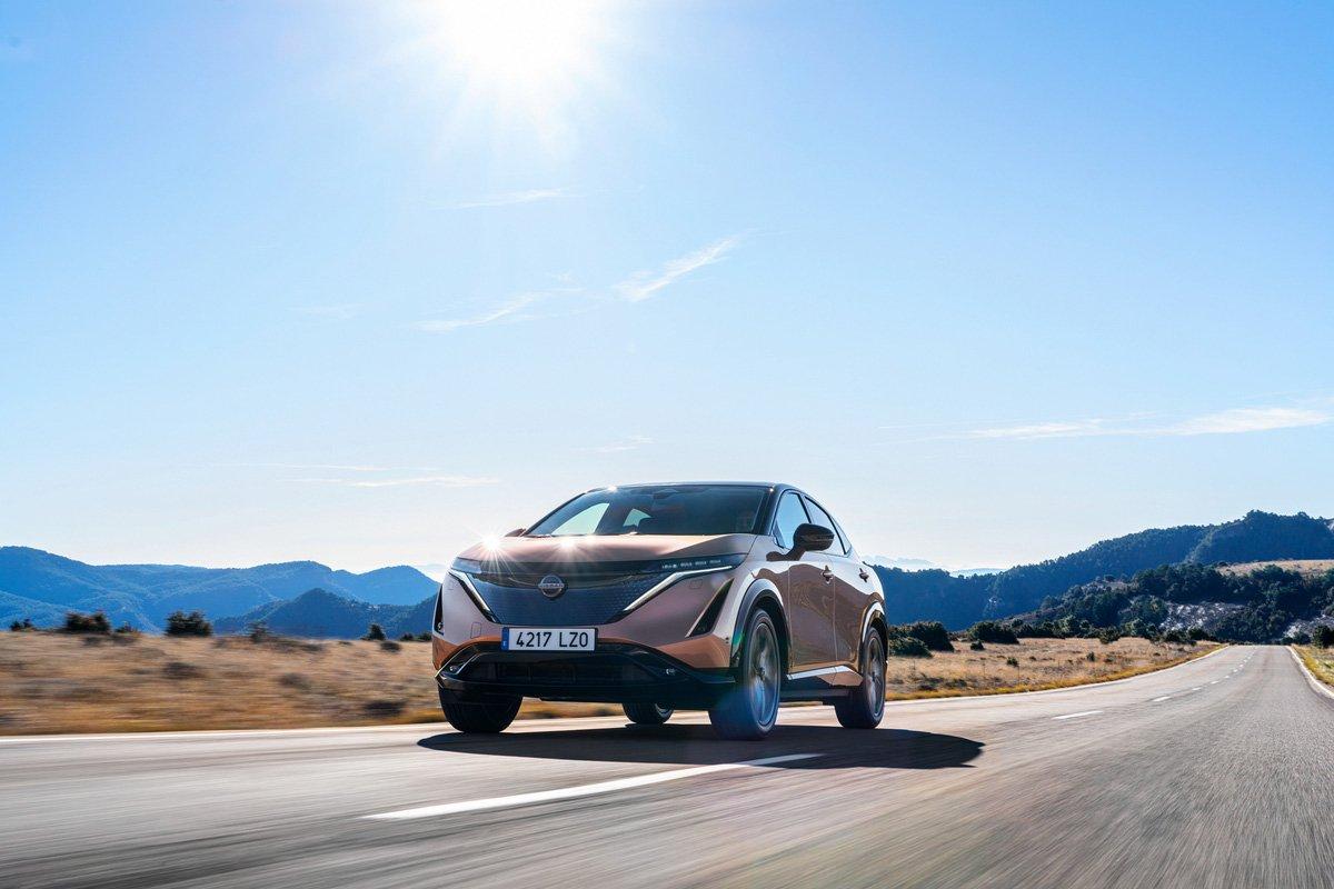 pruebas a Nissan Ariya