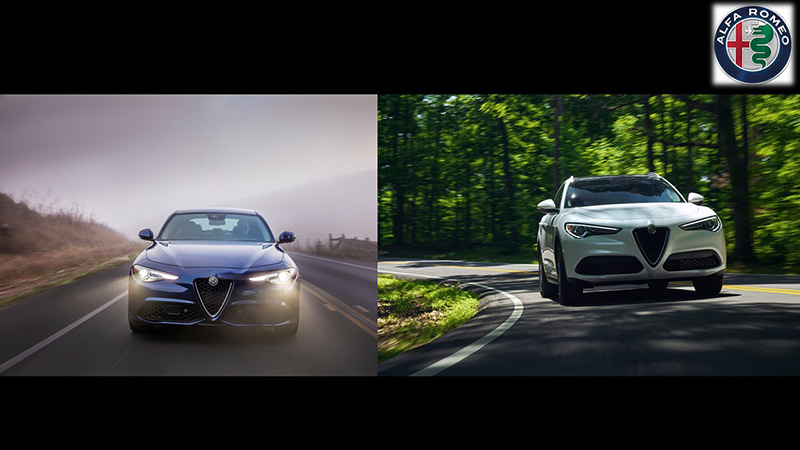 Alfa Romeo Giulia y Stelvio Lusso 2021