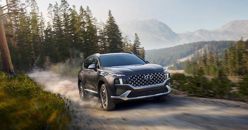 Hyundai Santa Fe Top Safety Pick 2021