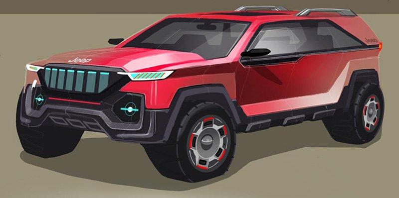 Jeep electrico del futuro