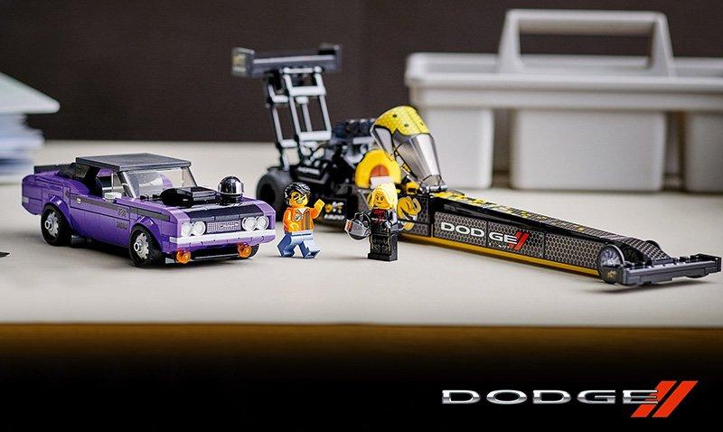 Set LEGO Speed Champions Mopar, Dodge