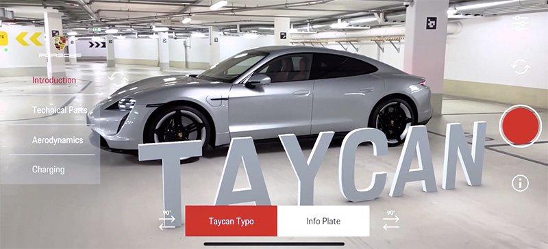 Taycan AR Event App