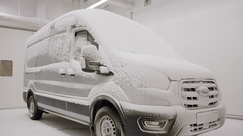 Ford E-Transit frio