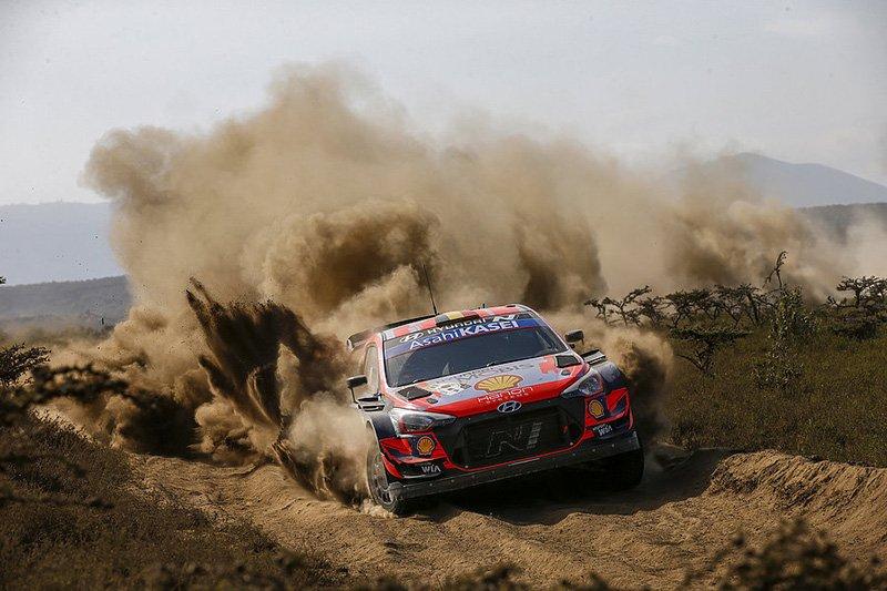 Hyundai Motorsport WRC Safari de Kenia