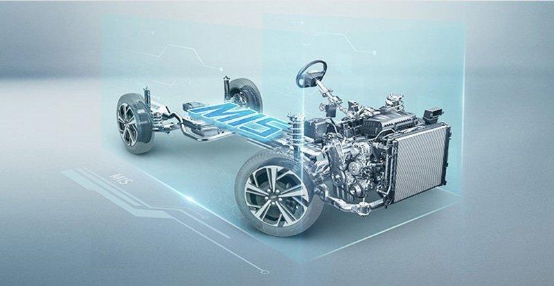 MIS JAC Volkswagen arquitectura