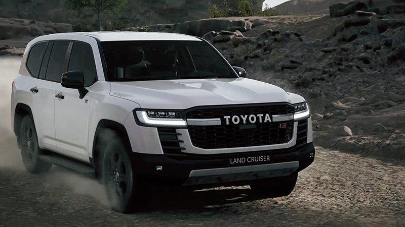 Nueva Toyota Land Cruiser grava
