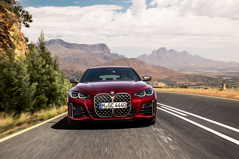 BMW Serie 4 Gran Coupé frente