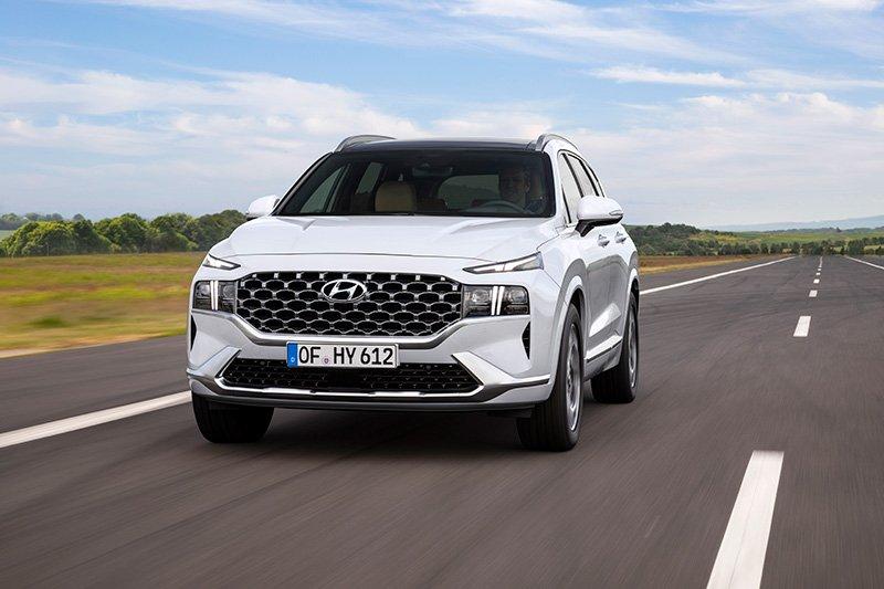 Hyundai Santa Fe 2022 anuncio