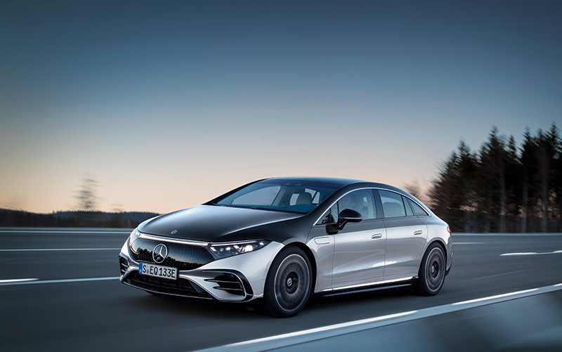 Mercedes-Benz EQS autodesign 2025