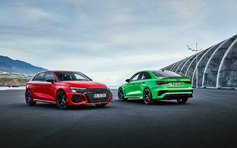 Nuevo Audi RS 3 colores