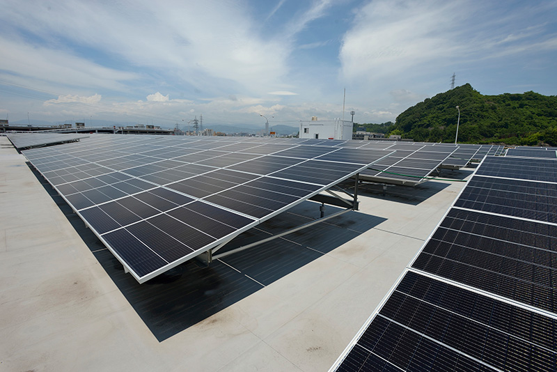 Panel solar Mazda Hiroshima