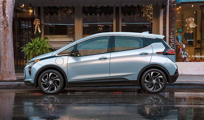 2022 Chevrolet Bolt EV llamado bateria