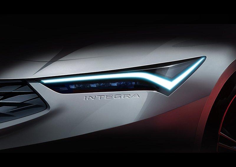 Acura Integra teaser 2022