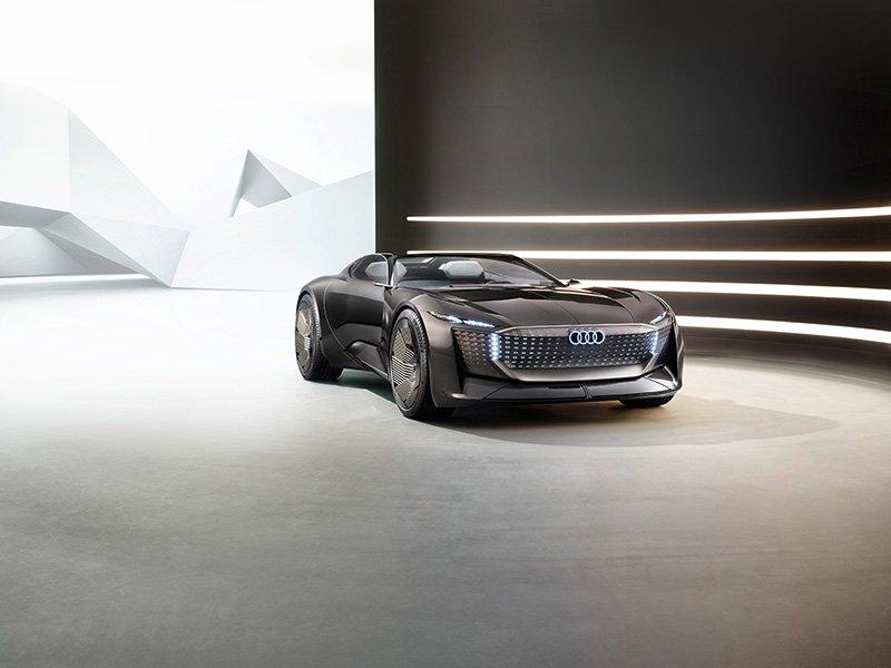 Audi skysphere concept lado izq