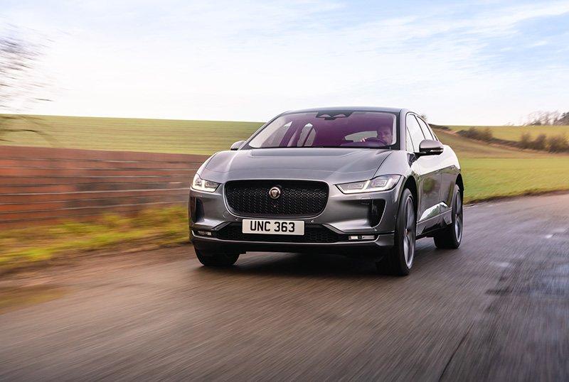Jaguar I-PACE frontal 2021