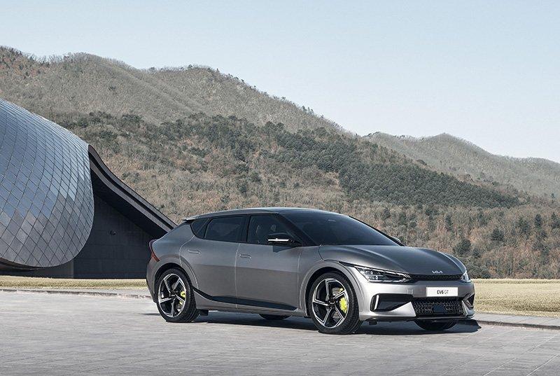 Kia EV6 Carbon Trust