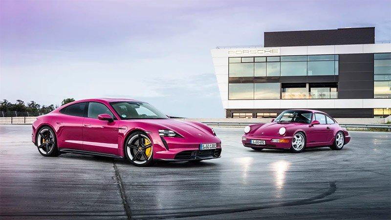 Porsche Taycan y Taycan Cross Turismo actualizacion desempeño