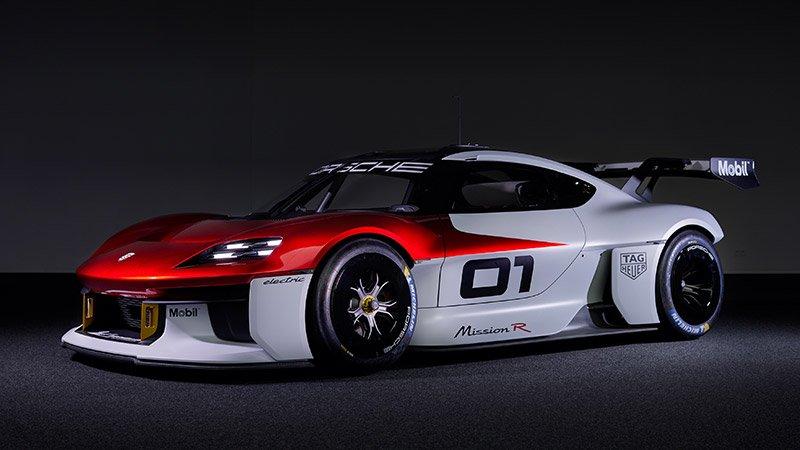 Porsche electrico deportivos carreras