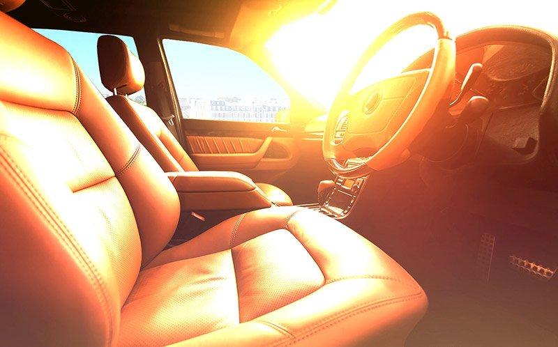 calor afecta auto