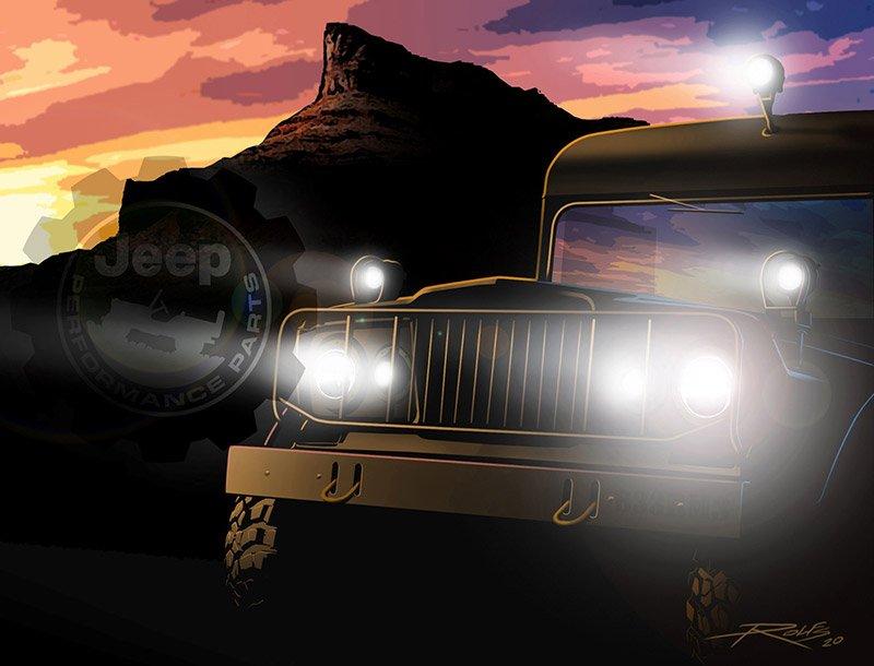 Mopar Jeep adelanto SEMA Show 2021