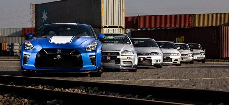 Nissan Skyline historia