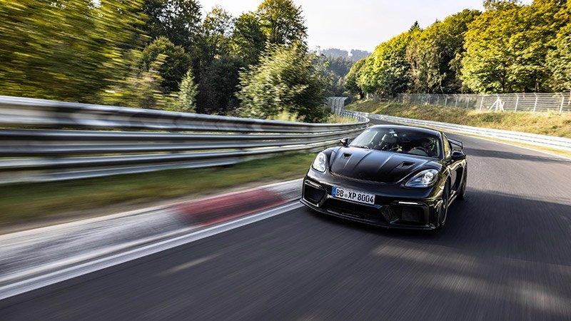 Porsche-718-Cayman-GT4-RS-Nurburgring
