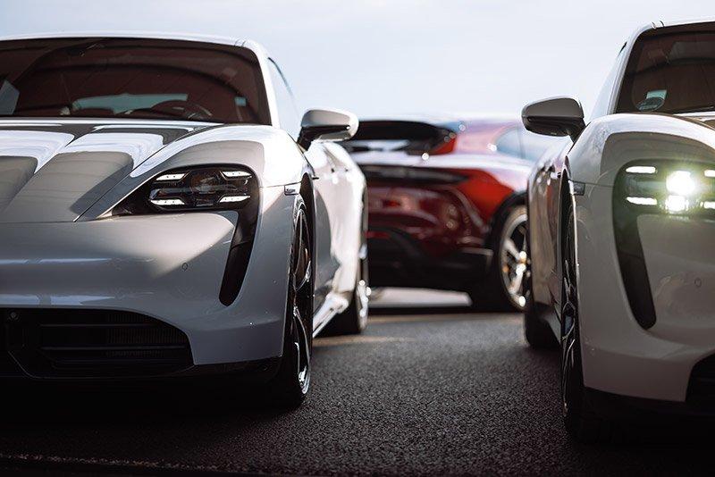 Porsche Taycan versiones