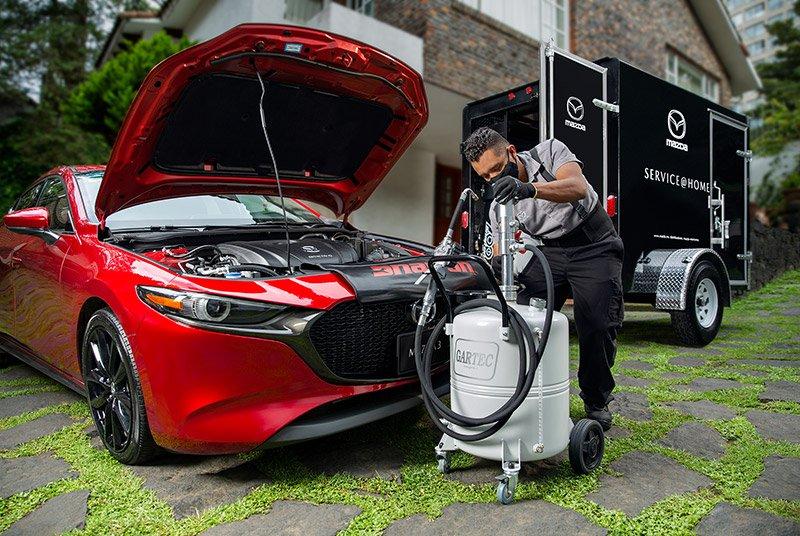 Service At Home talleres Mazda Mexico